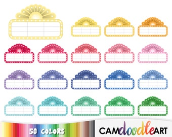 50 Movie Marquee Clipart,Movie Time Clipart,Cinema Clipart, Movie Clip,Theater Clipart,Scrapbooking,Planner Clipart,Sticker Clipart,png file