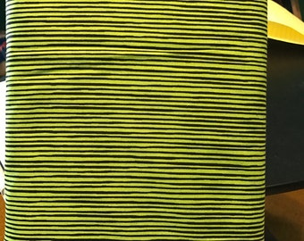 Quilting treasures, Lime Green and Black