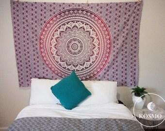 tenture murale hippy etsy. Black Bedroom Furniture Sets. Home Design Ideas