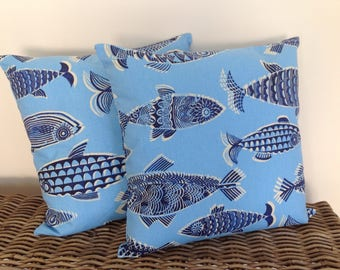 "Tommy Bahama cushion cover to fit 50cm (20"") sq. fill."
