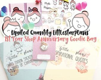 LIMITED QUANTITY Pre-Sale Littlestarplans 1st Year Shop Anniversary Goodie Bag