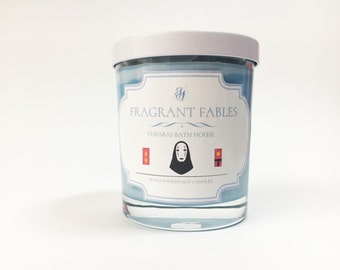 Yubabas Bath house | Spirited Away | Scented Soy Wax Candle
