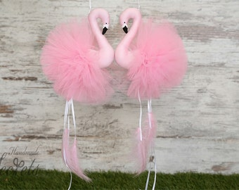 Flamingos, Flamingos Mobile, Pink Flamingos, Home Decoration, Nursery Decor, Baby Gift, Baby Room, Baby Shower, Baby Girl, Baby Party