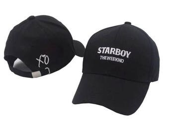 The weekend starboy stiched dad hat