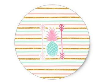 Tropical Pineapple sticker
