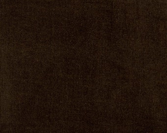 Brown Corduroy Fabric, 21 wale featherweight corduroy, Robert Kaufman Fabric, 100% cotton