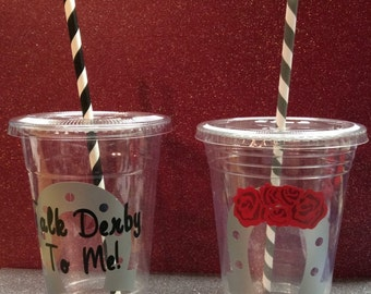 Kentucky Derby Party Cups