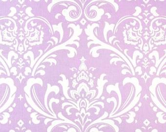 Lavender Damask Baby Pillow Sham