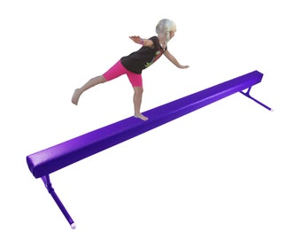 "Balance Beam Purple 12"" high"