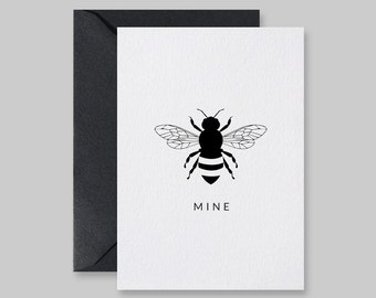 Be Mine Card, Valentine Card, Bee Mine, Printable Cards, Bee Mine Card, Be Mine Printable, Valentines Day Card, Be My Valentine