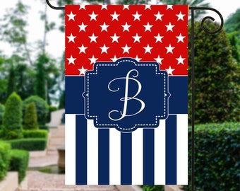 Memorial Day Flag | Red White and Blue Flag | th of July Flag | Patriotic Flag | Personalized Flag | Garden Flags | Patriotic Decor