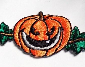 Iron On Patch Applique - Pumpkin