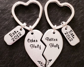 Valentines keyring, love keyring, valentines gift, couples keyring, Mother's Day gift, Mother's Day keyring, anniversary gift, anniversary