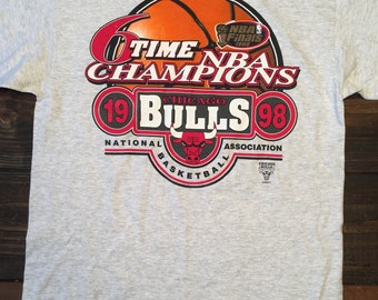 Chicago Bulls 1998 NBA Finals T-Shirt Vintage 90s