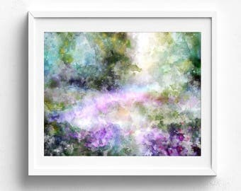 Abstract watercolor, abstract art abstract painting abstract wall art abstract watercolour modern watercolor pink abstract original abstract