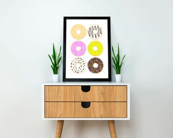Doughnut Print