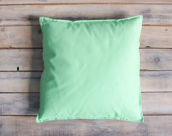 READY TO SHIP! Lime Pillow with Cotton Cover 40x40 cm