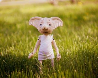 Handmade doll Dobby The House Elf (Harry Potter)