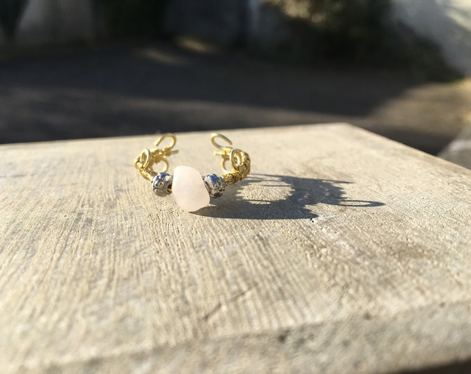 Rose Quartz ring inspired by fairyland