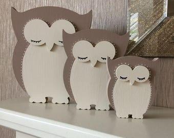 Mdf owl family