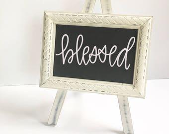 Small Easel Chalkboard