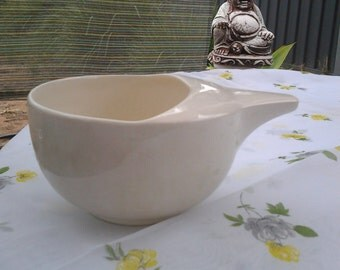 Antique Invalid Feeding Cup - Porcelain