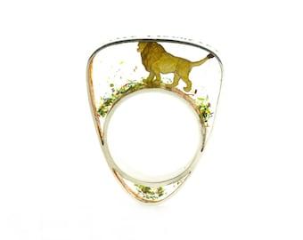 Little Lionheart ring