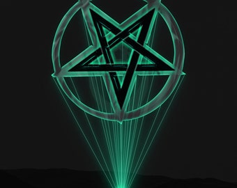 Neon Pentagram Dark