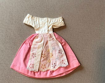 Vintage Barbie She's In Switzerland Dress
