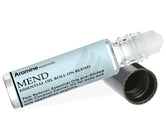 Mend Pain Relief Essential Oil Roll-On, 10ml