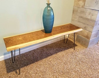 natural edge table | etsy