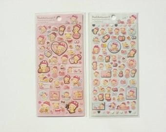 Korilakkuma sticker sheet