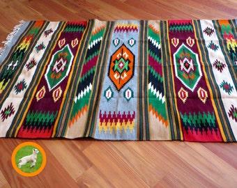 Aztec Rug, Navajo Rugs, Southwestern Print, Ethnic Wall Hanging, Woven  Tribal Rugs