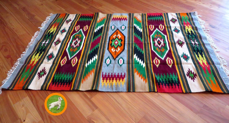 Hanging Rugs Aztec Rug Navajo Rugs Southwestern Print Ethnic Wall