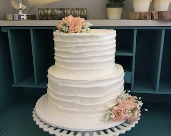 Beautiful faux wedding cakes for your special by CakeintheCupboard