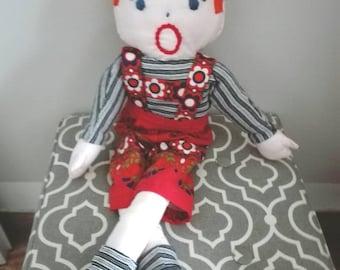 70 years, doll doll vintage
