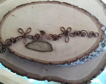 Flower Linked Bracelet