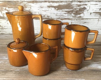 Vintage Coffee Pot Set
