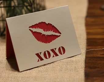 XOXO Love Anniversary Card
