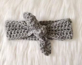 Girls Top Knot Headband