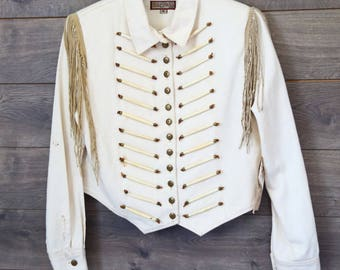 Vintage Double D Ranch Wear Beige Jacket [0164]
