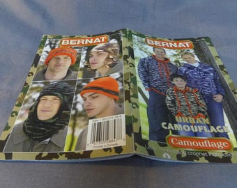 Knit and Crochet Patterns, Bernat Urban Camouflage, 2007 Out of Print