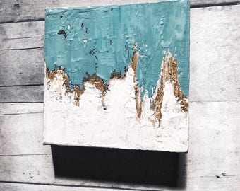 Abstract I Gold Leaf