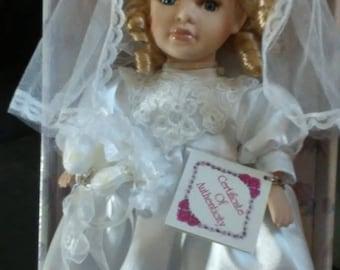 Vintage Porcelain Doll, (#1108/83)
