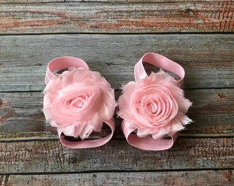 PICK 4 Barefoot Sandals/Baby Barefoot Sandals/Baby Sandals/Newborn Sandals/Baby Shoes/Newborn Shoe//Baby Girl/Toe Blooms/SandelBaby Shoes