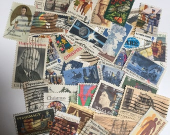 Lot of 40  8 cent U.S. Postage Stamps