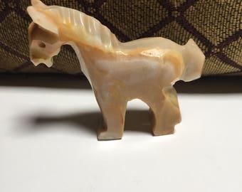 Light Brown Onyx Horse