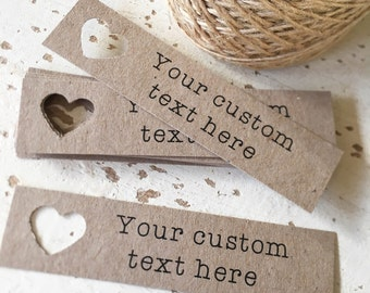 Customisable Tags Pk24 - Choose Your Font!!