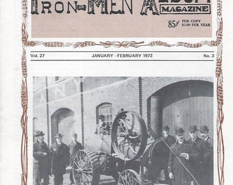 The Iron Men Album Magazine January-February 1973