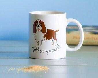 English Springer Spaniel Mug (girl)